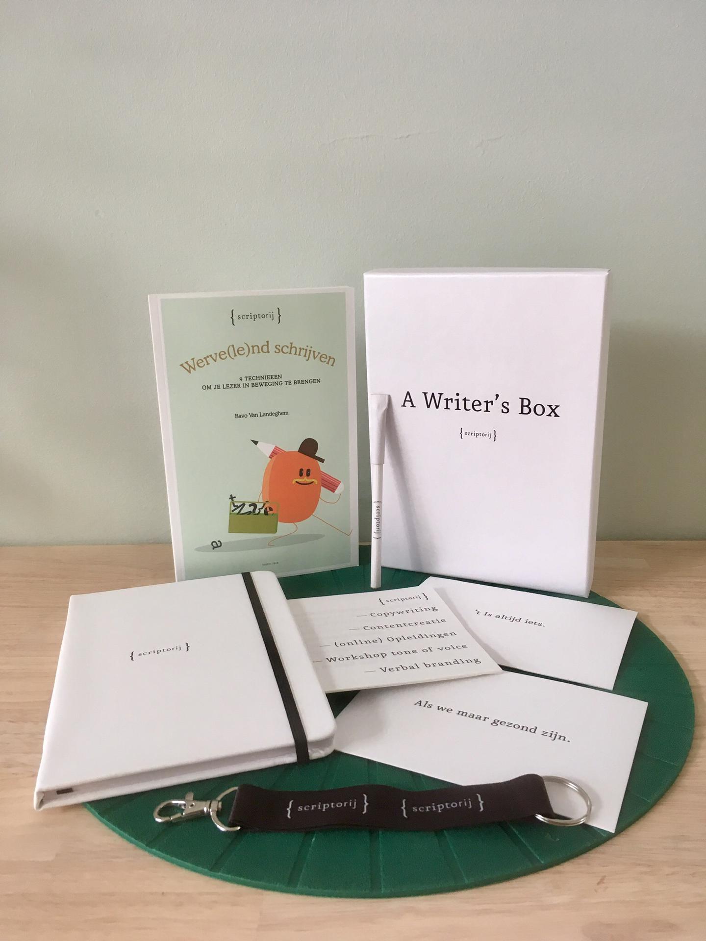 online opleiding copywriting scriptorij a Writer's box